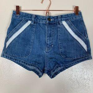 Free people sweet surrender denim shorts